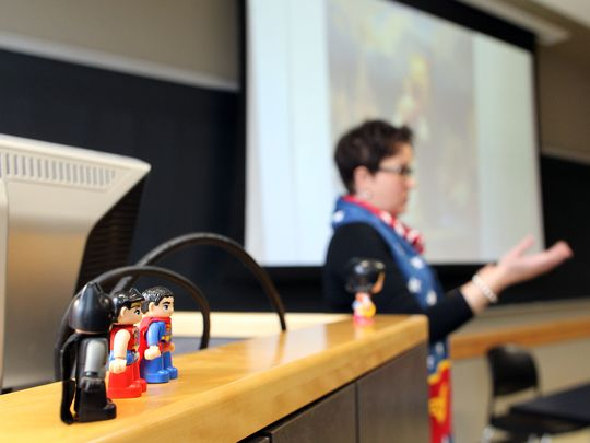 Wonder Woman class takes flight at UI