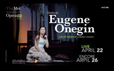 Anna Barker – Met Live Opera Pre-Performance Lecture for Eugene Onegin – 18 April 2017